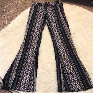 Bell bottom soft pants